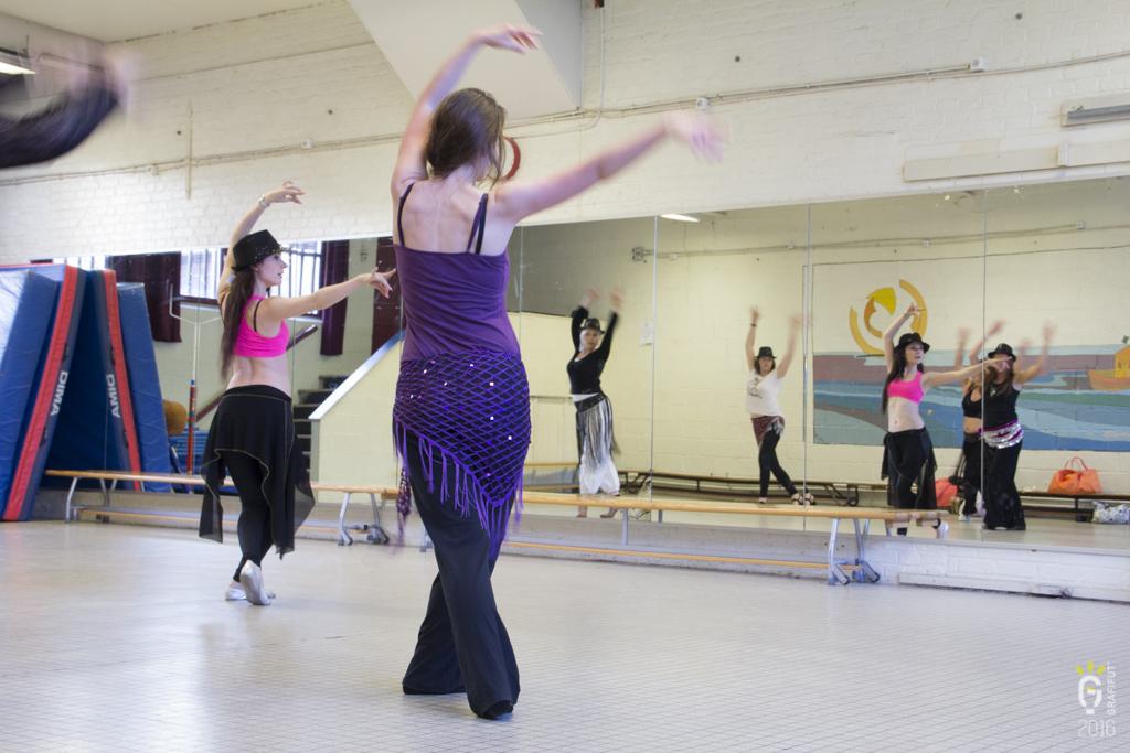Répétition du gala de danse orientale