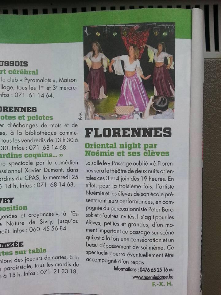 Extrait du Proximag - Florennes