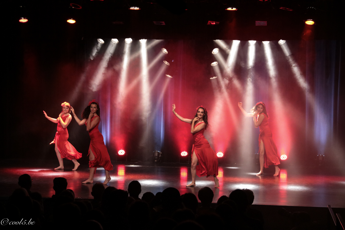 Cours de Danse orientale - spectacles des élèves