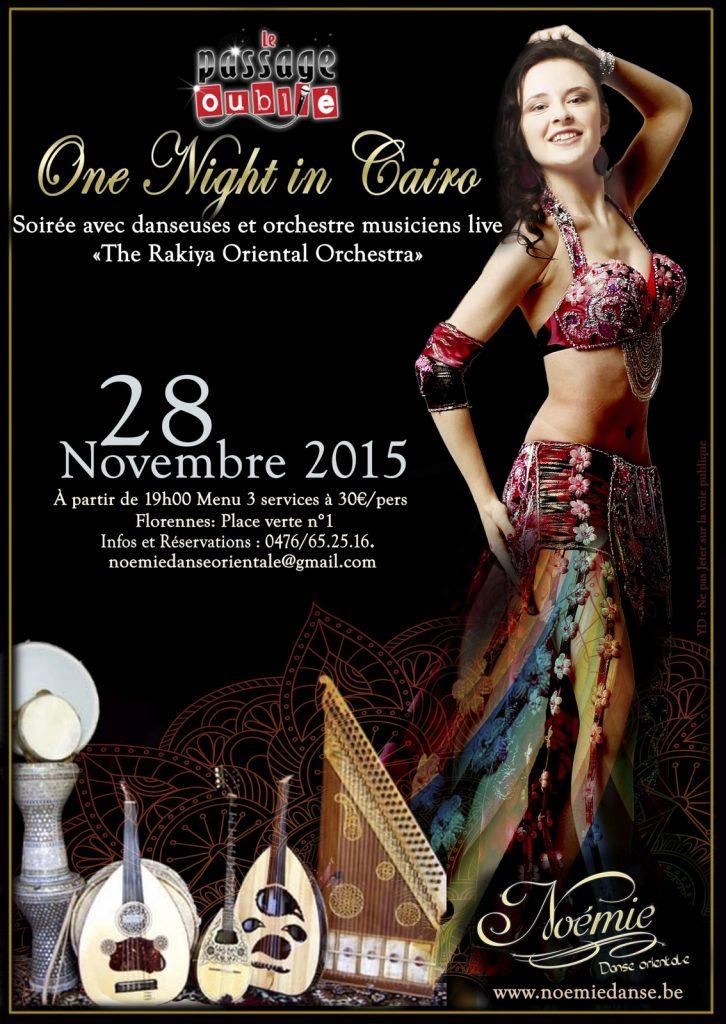 One night in Cairo - 2015