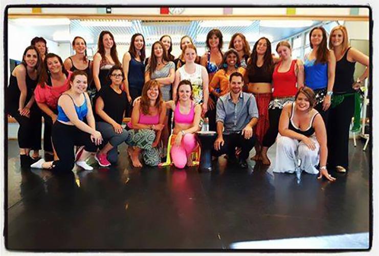 Stage rythmes et percu - juillet 2016 à Florennes