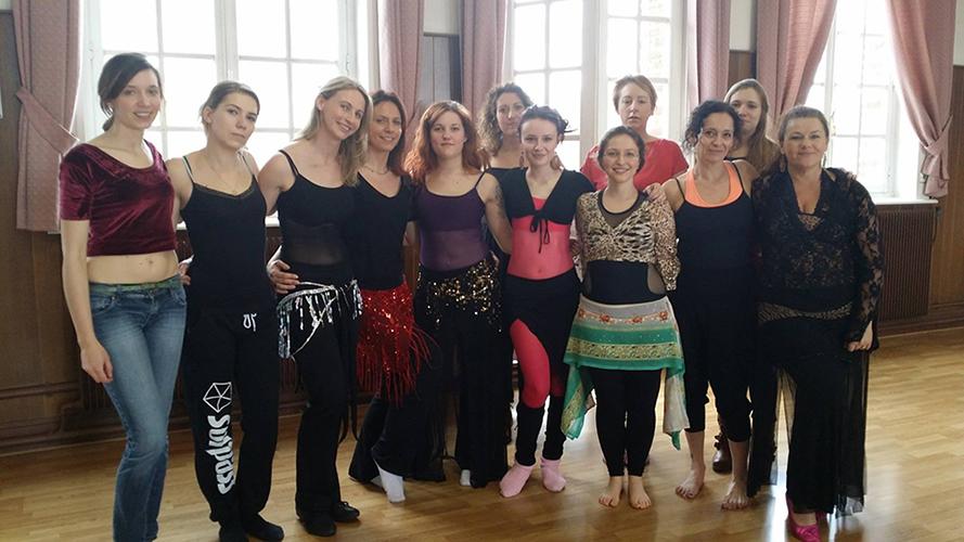 Stage Danse orientale - 2017 France